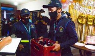 Trujillo: Aproximadamente 200 personas fueron intervenidas en operativo