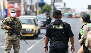 Anibal Torres: Rondas vecinales y Fuerzas Armadas pueden apoyar en la seguridad nacional