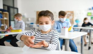 Reino Unido: escuelas reabren bajo estrictos controles de bioseguridad