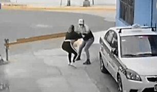 Mujer acabó siendo acuchillada por resistirse a robo en SJM