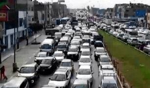 SMP: caos y tráfico generó cierre temporal del puente Bella Unión