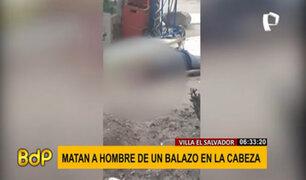 VES: imágenes muestran el momento que matan a un hombre de un balazo en la cabeza