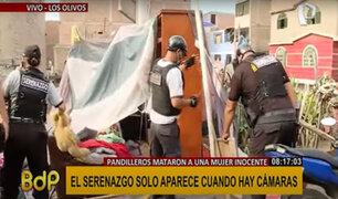 Los Olivos: desbaratan guarida de pandilleros ubicada en plena vía pública desde hace un año
