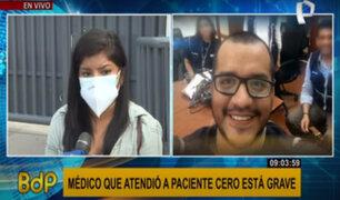 Denuncian atención irregular a médico con covid-19 que trató a paciente cero en Perú