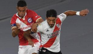 River Plate perdió 1-0 en el último minuto ante Argentinos Juniors