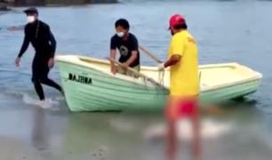 Hallan cadáver de mujer en playa de San Bartolo