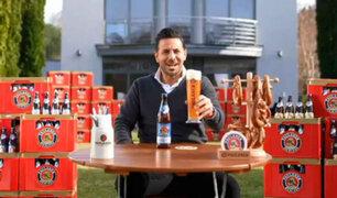 VIDEO: Claudio Pizarro es modelo en publicidad del nuevo auspiciador del Bayern Múnich