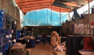 Operativo Machala desarticula banda criminal dedicada al tráfico de insumos químicos