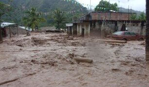 Huaicos e inundaciones dejaron fuertes lluvias en Cajamarca