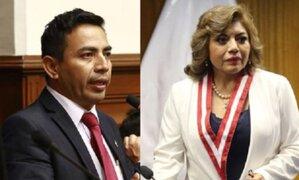 Congresista cuestiona que fiscal de la Nación use vestido morado