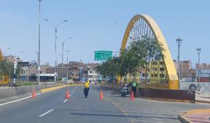 Lima Expresa pide que retiren los escombros para poder reabrir puente Bella Unión