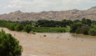 Río Chancay-Lambayeque es declarado en alerta roja ante riesgo de desborde
