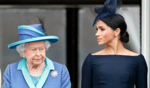 Reina Isabel responde a las acusaciones de racismo de Meghan Markle