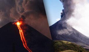 Volcán registra explosiones y lanza cenizas en Nicaragua
