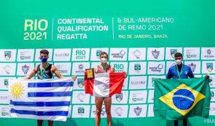 Perú logra tres medallas en el Campeonato Sudamericano de Remo en Brasil