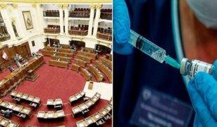 Vacunagate: Pleno evaluará hoy informe final de la comisión investigadora