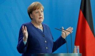 Alemania: Merkel se muestra a favor de nuevo cierre de la vida pública en el país
