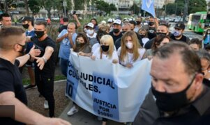 Movilizaciones en Argentina para pedir justicia por muerte de Maradona