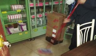 Huancayo: cajas de medicinas e implementos sanitarios se dañaron tras inundación