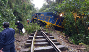 Cusco: hoy al mediodía se rehabilitará la vía férrea Machu Picchu, informó Fetransa