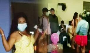 Intervienen a 20 personas en fiesta-COVID y en pleno toque de queda