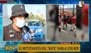 """Habla mototaxista que usó un bate en pelea: """"soy informal, pero no delincuente"""""""
