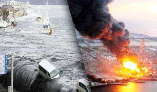 Se cumplen 10 años de Terremoto, tsunami y fuga nuclear en Japón