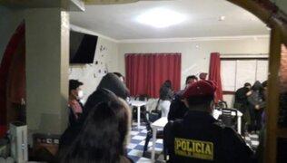 Huancayo: intervienen bar donde habían 30 personas y hasta un niño de 3 años