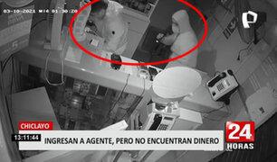 Delincuentes se llevan tremenda sorpresa cuando ingresan a robar agentes bancarios