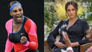 Serena Williams respalda a Meghan Markle tras su denuncia de racismo
