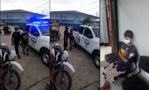 Iquitos: cae sujeto acusado de apuñalar y matar a su joven pareja