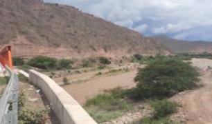 Desborde del río Zaña dejó a varios poblados incomunicados en Lambayeque