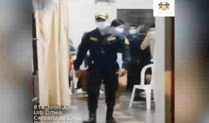 Magdalena: más de 20 personas fueron intervenidas en fiesta covid en pleno toque de queda