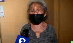 Anciana terminó con heridas tras ser atacada por su nieto en Surco