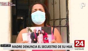 SMP: madre de familia denuncia que le piden 10 mil soles para que liberen a su hija