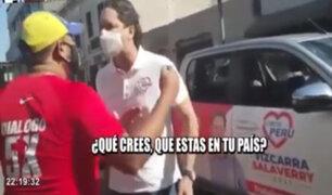 Somos Perú: Daniel Salaverry protagoniza altercado con extranjero