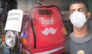 PNP captura a falsos repartidores extranjeros que asaltaron a su compatriota