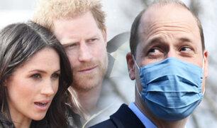 """Príncipe William tras declaraciones de su hermano: """"No somos una familia racista"""""""