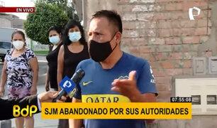 Disparan a joven que se resistió a robo: vecinos de SJM piden mayor apoyo policial