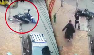 Colombia: Hombre desarmó a ladrones en moto y asesinó a uno de ellos