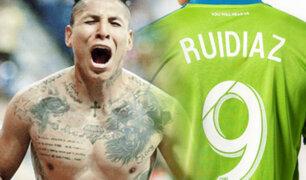 Ruidíaz fue elegido el mejor futbolista de la MLS