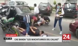 San Miguel: cae banda 'Los Wachiturros del Callao'