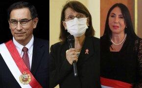 Comisión Permanente revisará hoy las denuncias constitucionales contra Martín Vizcarra