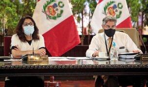 Bermúdez reitera que presidente Sagasti no autorizó vacunación de Astete