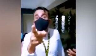 Miraflores: pareja denuncia que vecino los agredió por reclamarle que se estacionó mal
