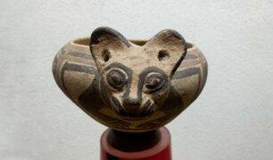 Recuperan piezas arqueológicas peruanas que fueron llevadas ilegalmente a Francia