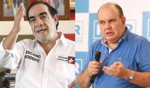 Según reciente sondeo del IEP, Lescano lidera intención de voto y López Aliaga marcha segundo