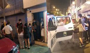Lince: intervienen a ocho mujeres y seis hombres en local donde se ejercía la prostitución
