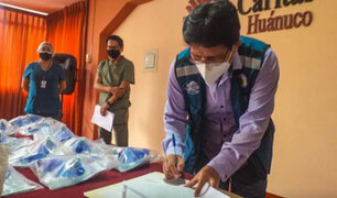Huánuco: donan 20 ventiladores mecánicos para pacientes con Covid-19 del hospital Valdizán