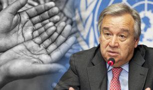 """ONU: """"Más de 30 millones de personas están a un paso de sufrir de hambruna"""""""